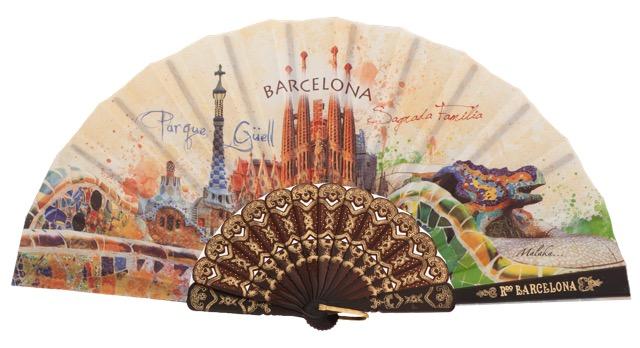 Plastic fan souvenir collections 296/1NEG