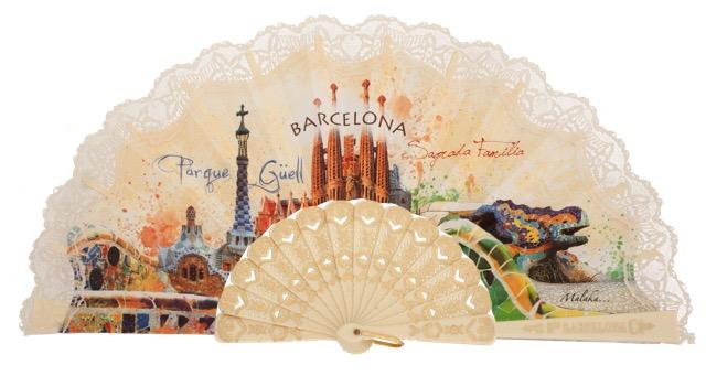 Plastic fan souvenir collections 296MFL