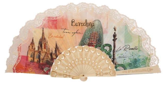 Plastic fan souvenir collections 297MFL
