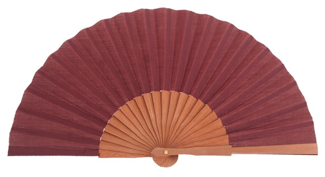 Gentleman pear wood fan 3189GRA
