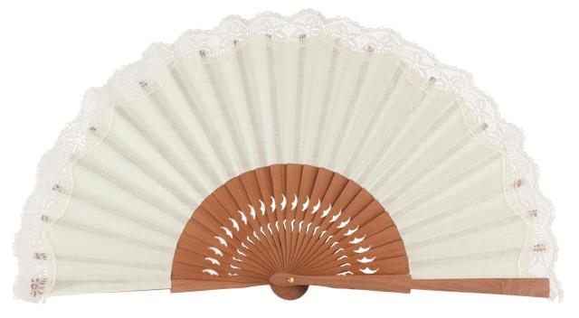 Pear wooden fan 3269MFL