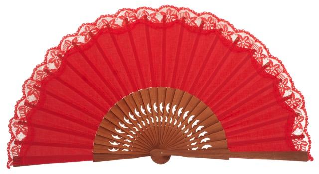 Pear wooden fan 3269ROJ