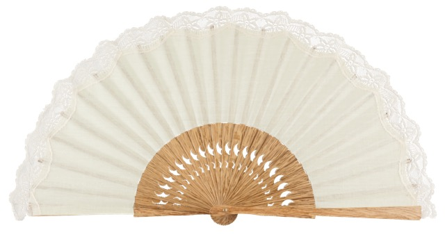 Oak wooden fan 3270MFL