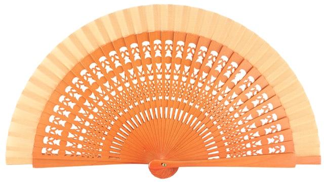Wooden fan in colors 4013AVE