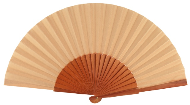 Wooden fan in colors 4048AVE