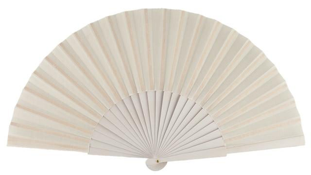 Wooden fan in colors 4048BLA