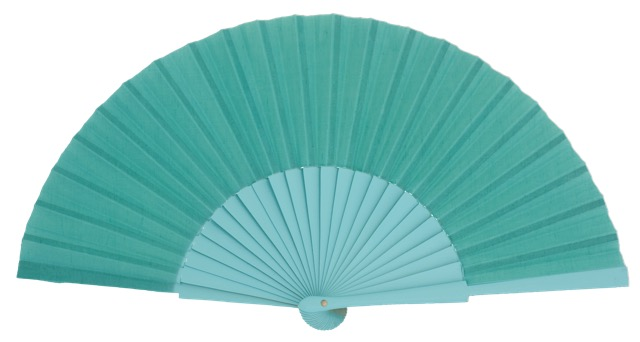 Wooden fan in colors 4048ESM