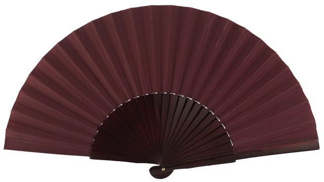 Wooden fan in colors 4048GRA