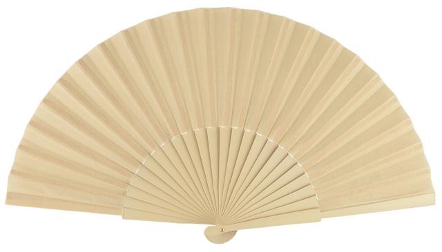 Wooden fan in colors 4048MFL