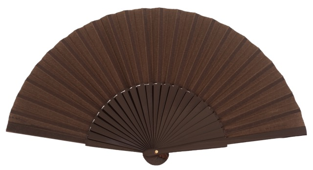 Wooden fan in colors 4048MRR