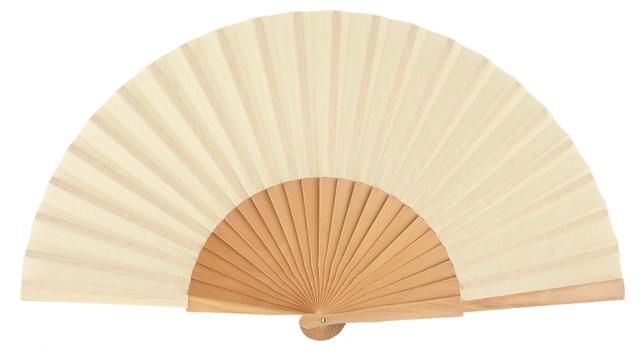 Wooden fan in colors 4048NAT