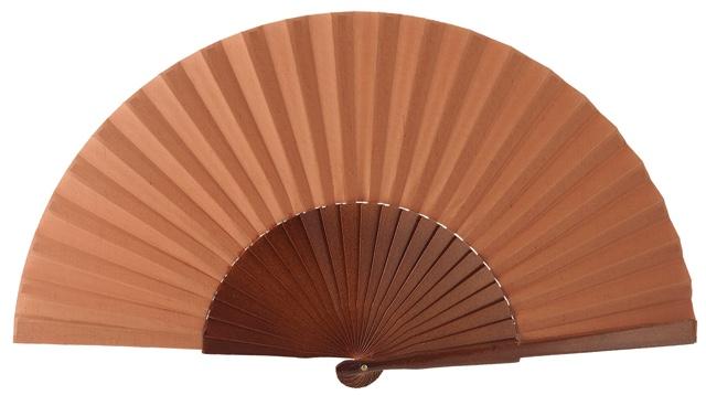 Wooden fan in colors 4048NOG