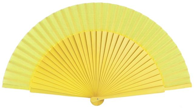Wooden fan in colors 4055AMA