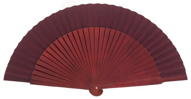 Wooden fan in colors 4055GRA