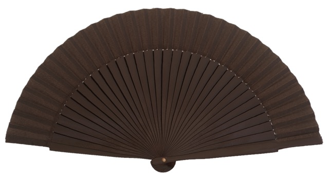 Wooden fan in colors 4055MRR