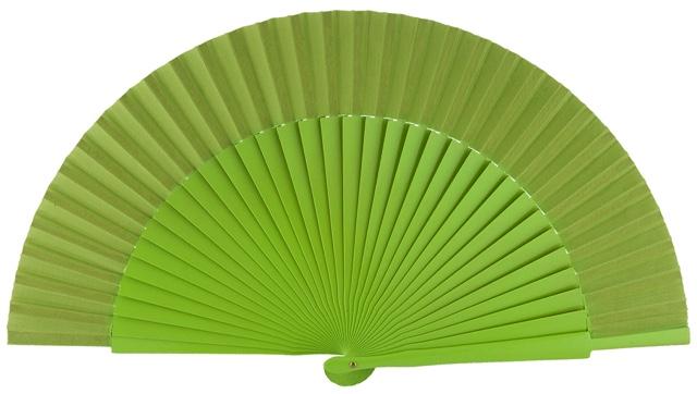 Wooden fan in colors 4055PIS