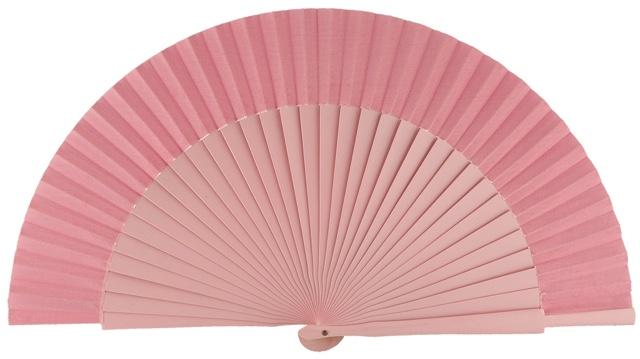 Wooden fan in colors 4055ROS
