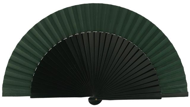 Wooden fan in colors 4055VBO