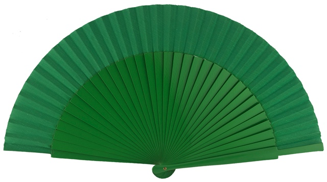 Wooden fan in colors 4055VER