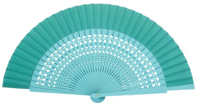 Wooden fan in colors 4056ESM