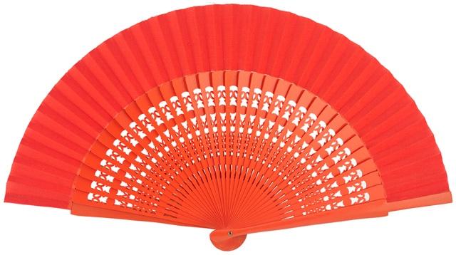 Wooden fan in colors 4056NAR