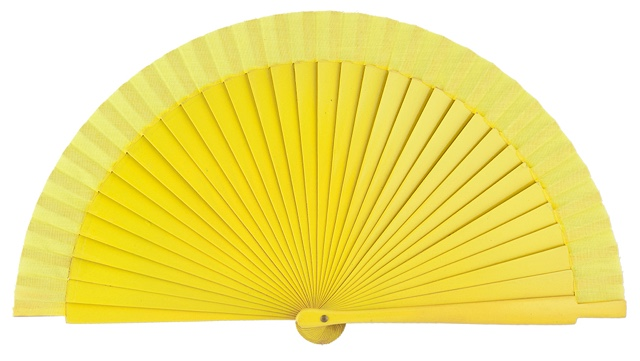 Wooden fan in colors 4060AMA