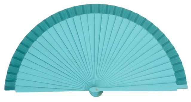 Wooden fan in colors 4060ESM
