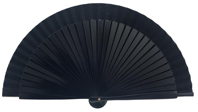Wooden fan in colors 4060MAR