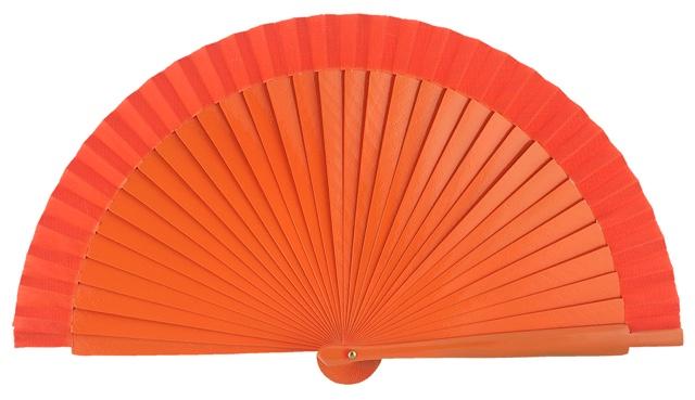 Wooden fan in colors 4060NAR