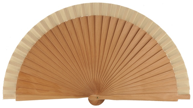 Wooden fan in colors 4060NAT