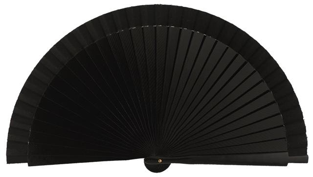Wooden fan in colors 4060NEG