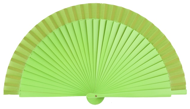 Wooden fan in colors 4060PIS
