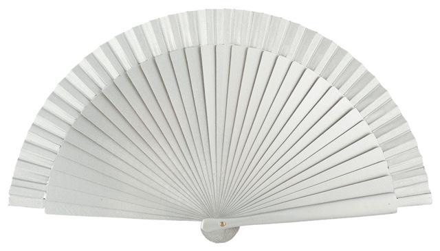Wooden fan in colors 4060PLA
