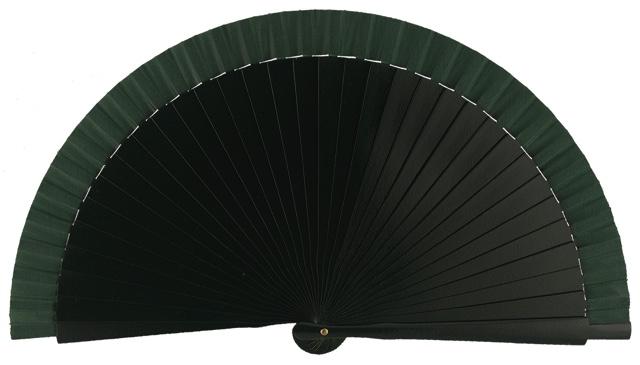 Wooden fan in colors 4060VBO