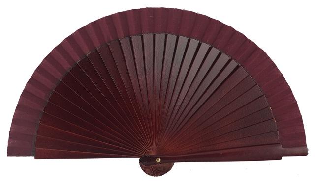 Wooden fan in colors 4063GRA