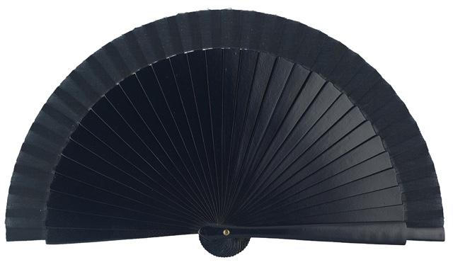 Wooden fan in colors 4063MAR