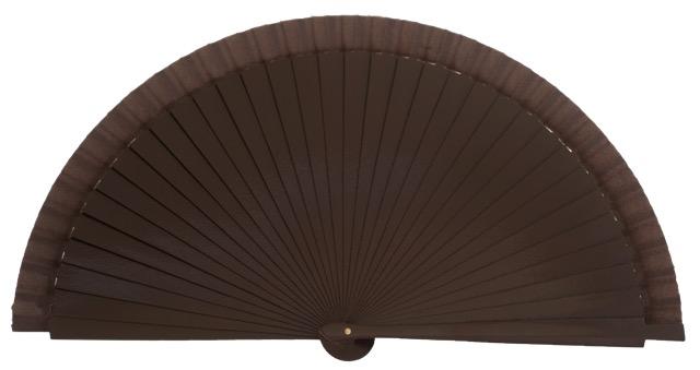 Wooden fan in colors 4063MRR