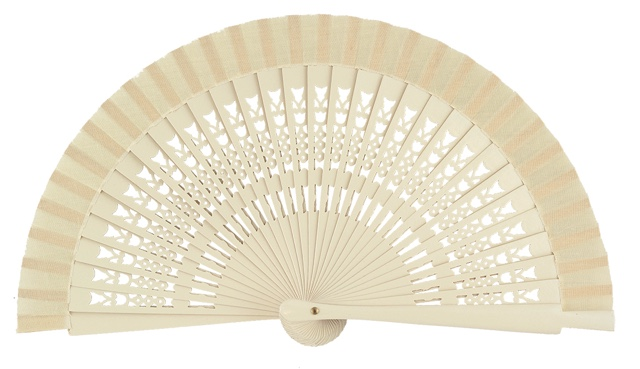 Wooden fan in colors 4064MFL