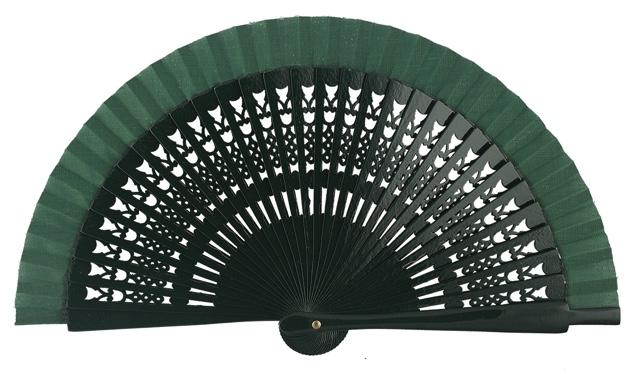 Wooden fan in colors 4064VBO