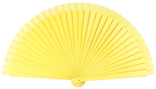 Wooden fan in colors 4066AMA