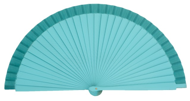 Wooden fan in colors 4066ESM