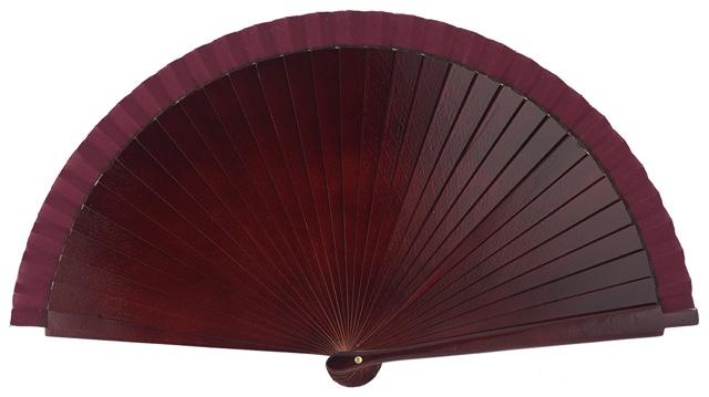 Wooden fan in colors 4066GRA