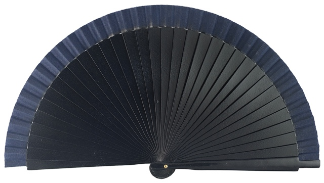 Wooden fan in colors 4066MAR