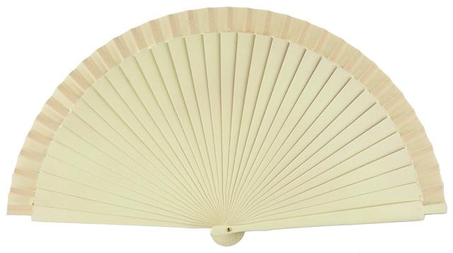Wooden fan in colors 4066MFL