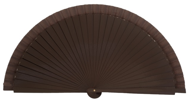 Wooden fan in colors 4066MRR