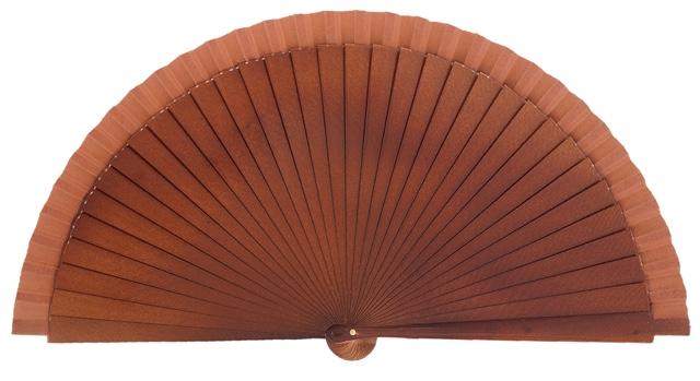Wooden fan in colors 4066NOG