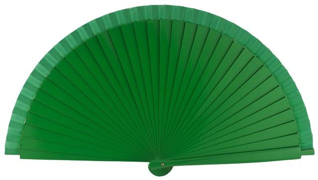 Wooden fan in colors 4066VER