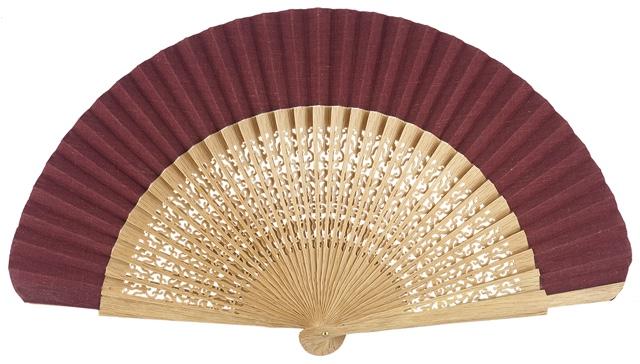 Oak wood fan 4118GRA