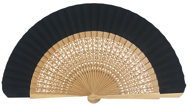 Oak wood fan 4118NEG