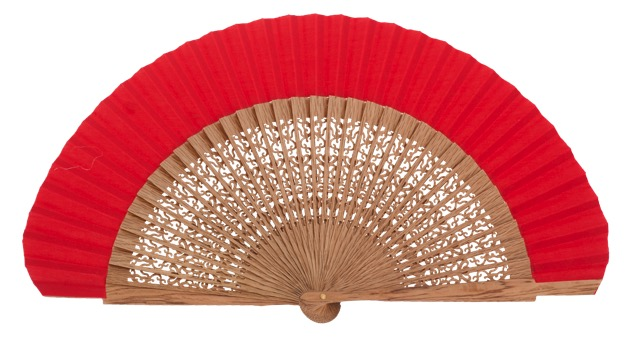 Oak wood fan 4118ROJ